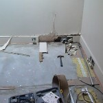 Water Damage New Build Property in Hampstead