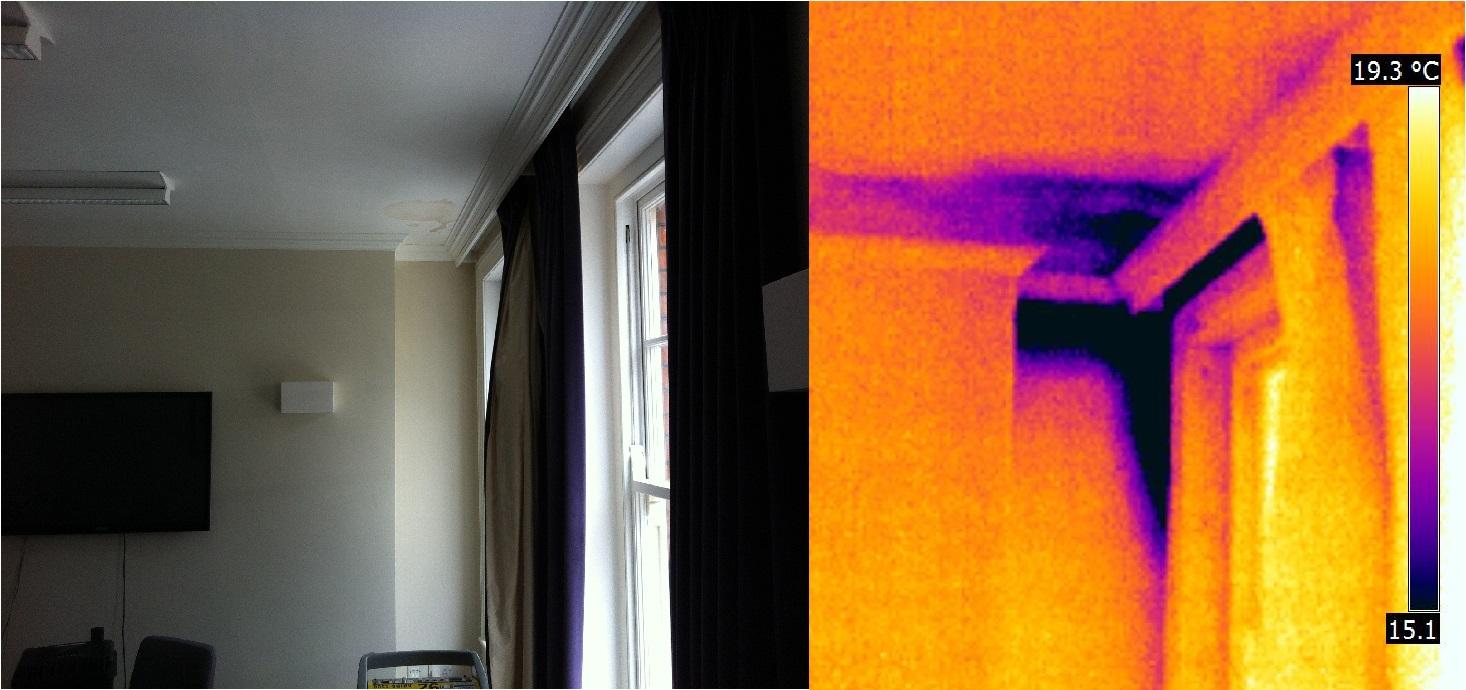 Thermal Imaging Leak Detection Water Damage